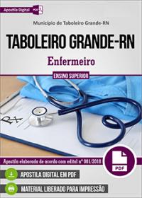 Enfermeiro - Prefeitura de Taboleiro Grande - RN