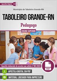 Pedagogo - Prefeitura de Taboleiro Grande - RN