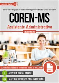 Assistente Administrativo - COREN-MS