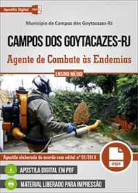 Agente de Combate às Endemias - Prefeitura de Campos dos Goytacazes - RJ