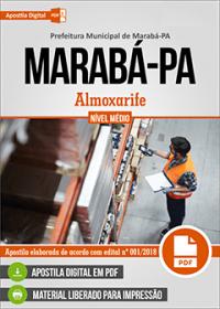 Almoxarife - Prefeitura de Marabá - PA