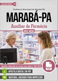 Auxiliar de Farmácia - Prefeitura de Marabá - PA
