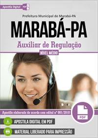 Auxiliar de Regulação - Prefeitura de Marabá - PA
