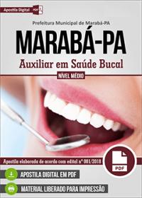 Auxiliar em Saúde Bucal - Prefeitura de Marabá - PA