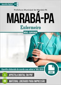 Enfermeiro - Prefeitura de Marabá - PA