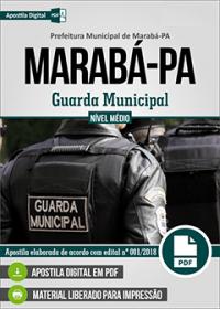 Guarda Municipal - Prefeitura de Marabá - PA