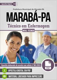 Técnico em Enfermagem - Prefeitura de Marabá - PA