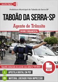 Agente de Trânsito - Prefeitura de Taboão da Serra - SP