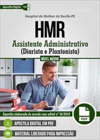 Assistente Administrativo - Diarista e Plantonista - HMR