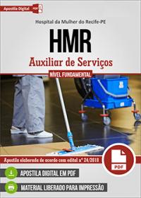 Auxiliar de Serviços - Diarista e Plantonista - HMR