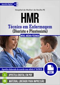 Técnico em Enfermagem - Diarista e Plantonista - HMR