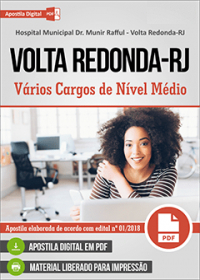 Auxiliar Administrativo - Hospital Municipal Dr. Munir Rafful - Volta Redonda-RJ
