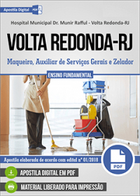 Maqueiro - Hospital Municipal Dr. Munir Rafful - Volta Redonda-RJ