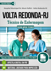 Técnico de Enfermagem - Hospital Municipal Dr. Munir Rafful - Volta Redonda-RJ