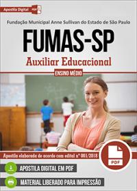 Auxiliar Educacional - FUMAS-SP