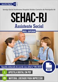 Assistente Social - SEHAC-RJ