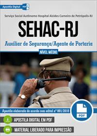 Auxiliar de Segurança - Agente de Portaria - SEHAC-RJ
