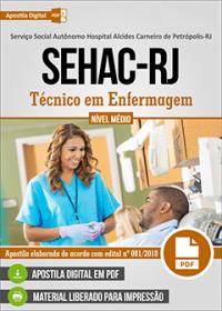 Técnico em Enfermagem - SEHAC-RJ
