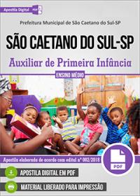 Auxiliar de Primeira Infância - Prefeitura de São Caetano do Sul - SP