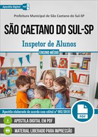 Inspetor de Alunos - Prefeitura de São Caetano do Sul - SP