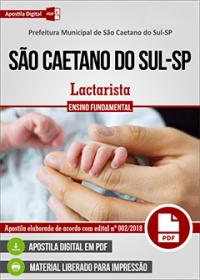 Lactarista - Prefeitura de São Caetano do Sul - SP