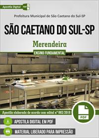 Merendeira - Prefeitura de São Caetano do Sul - SP