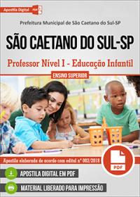Professor Nível I - Educação Infantil - Prefeitura de São Caetano do Sul - SP