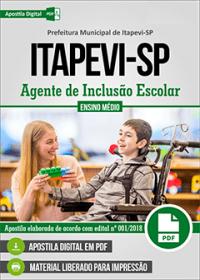 Agente de Inclusão Escolar - Prefeitura de Itapevi - SP