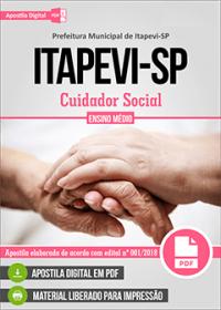 Cuidador Social - Prefeitura de Itapevi - SP