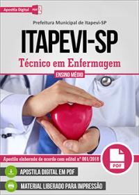Técnico em Enfermagem - Prefeitura de Itapevi - SP