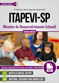 Monitor de Desenvolvimento Infantil - Prefeitura de Itapevi - SP