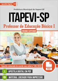 Professor de Educação Básica I - Prefeitura de Itapevi - SP