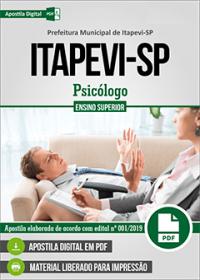 Psicólogo - Prefeitura de Itapevi - SP