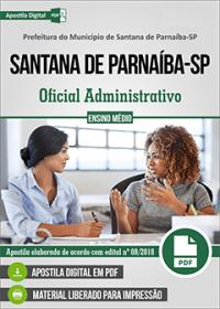 Oficial Administrativo - Prefeitura de Santana de Parnaíba - SP