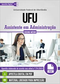 Assistente em Administração - UFU