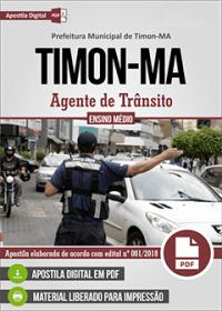 Agente de Trânsito - Prefeitura de Timon - MA
