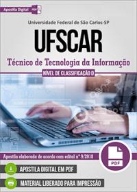 Técnico de Tecnologia da Informação - UFSCar