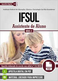 Assistente de Aluno - IFSUL