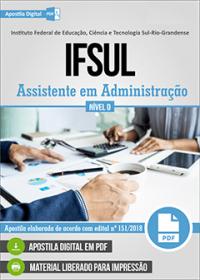 Assistente em Administração - IFSUL