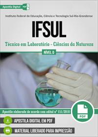 Técnico em Laboratório - Ciências da Natureza - IFSUL