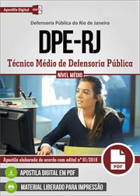 Técnico Médio de Defensoria Pública - DPE-RJ