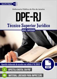 Técnico Superior Jurídico - DPE-RJ