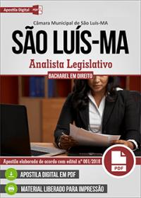 Analista Legislativo - Bacharel em Direito - Câmara de São Luís - MA