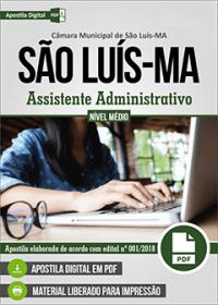 Assistente Administrativo - Câmara de São Luís - MA