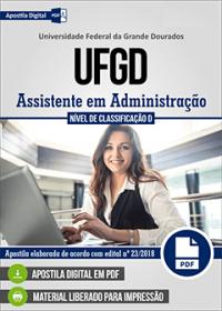 Assistente em Administração - UFGD