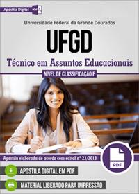 Técnico em Assuntos Educacionais - UFGD
