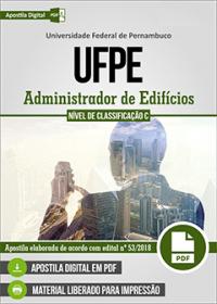 Administrador de Edifícios - UFPE