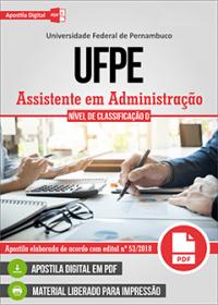 Assistente em Administração - UFPE