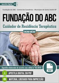 Cuidador de República Terapêutica - Fundação do ABC