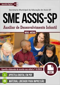 Auxiliar de Desenvolvimento Infantil - SME Assis-SP
